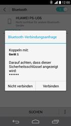 Huawei Ascend P6 - Bluetooth - Verbinden von Geräten - Schritt 7
