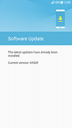 Samsung G930 Galaxy S7 - Android Nougat - Device - Software update - Step 8