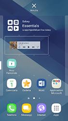 Samsung Galaxy A3 (2017) - Operazioni iniziali - Installazione di widget e applicazioni nella schermata iniziale - Fase 7