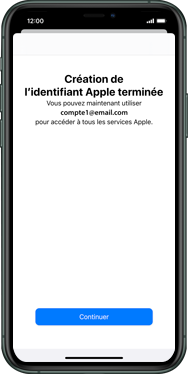 Apple iPhone XS Max - iOS 13 - Applications - Créer un compte - Étape 22