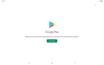 Samsung Galaxy Tab S7 - Apps - Einrichten des App Stores - Schritt 4