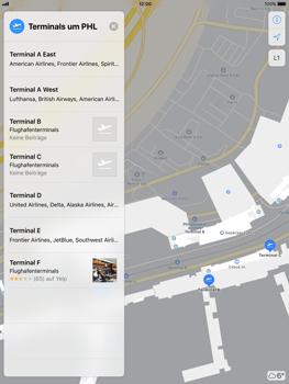 Apple iPad Pro 9.7 inch - iOS 11 - Indoor-Karten (Einkaufszentren/Flughäfen) - 11 / 12