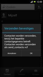 Sony ST26i Xperia J - contacten, foto