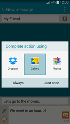 Samsung A500FU Galaxy A5 - MMS - Sending pictures - Step 16