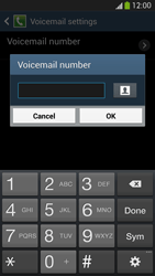 Samsung I9505 Galaxy S IV LTE - Voicemail - Manual configuration - Step 8