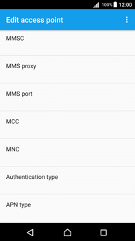Sony Xperia Z5 Premium (E6853) - Android Nougat - MMS - Manual configuration - Step 11