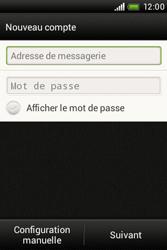 HTC A320e Desire C - E-mail - Configuration manuelle - Étape 7