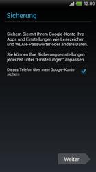 HTC S720e One X - Apps - Konto anlegen und einrichten - Schritt 14