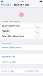 Apple iPhone 6 - iOS 11 - Sécuriser votre mobile - Activer le code de verrouillage - Étape 4