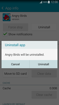 Samsung Galaxy Note 4 - Applications - How to uninstall an app - Step 7