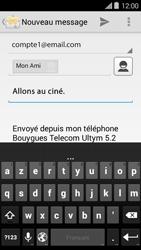 Bouygues Telecom Ultym 5 II - E-mails - Envoyer un e-mail - Étape 9