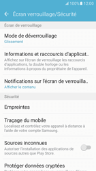 Samsung Galaxy S7 - Sécuriser votre mobile - Activer le code de verrouillage - Étape 5