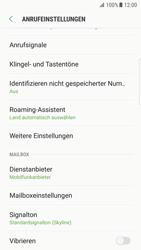 Samsung Galaxy S7 Edge (G935F) - Android Nougat - Anrufe - Rufumleitungen setzen und löschen - Schritt 6