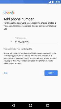 Nokia 6 (2018) - Applications - Create an account - Step 14