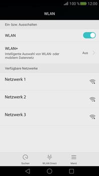 Huawei Mate S - WLAN - Manuelle Konfiguration - Schritt 5