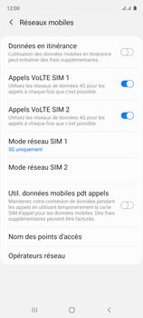 Samsung Galaxy A51 - Internet et connexion - Activer la 4G - Étape 6