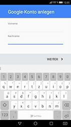 Huawei P8 Lite 2017 - Apps - Konto anlegen und einrichten - Schritt 5