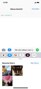 Apple iPhone X - iOS 12 - MMS - afbeeldingen verzenden - Stap 8