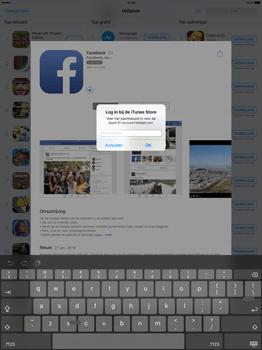 Apple iPad Pro 12.9 inch met iOS9 (Model A1652) - Applicaties - Account aanmaken - Stap 24