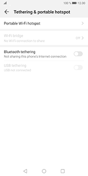 Huawei Mate 10 Pro - Android Pie - WiFi - How to enable WiFi hotspot - Step 5