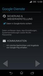 Sony Xperia E3 - Apps - Konto anlegen und einrichten - 15 / 25