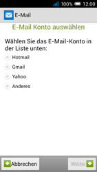 Alcatel Pop C7 - E-Mail - Manuelle Konfiguration - Schritt 7