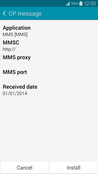 Samsung N910F Galaxy Note 4 - MMS - Automatic configuration - Step 6