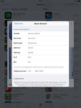 Apple iPad Mini 4 - Apps - Konto anlegen und einrichten - 28 / 35