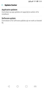 LG Q7 - Software updaten - Update installeren - Stap 5