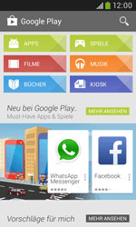 Samsung Galaxy Trend Plus - Apps - Konto anlegen und einrichten - 27 / 28