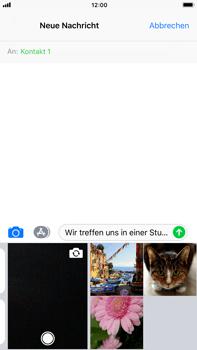 Apple iPhone 8 Plus - MMS - Erstellen und senden - Schritt 12