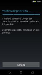 Sony Xperia V - Applicazioni - Configurazione del negozio applicazioni - Fase 9