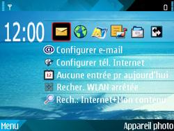 Nokia E71 - Messagerie vocale - configuration manuelle - Étape 1