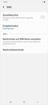 Samsung Galaxy A50 - SMS - Manuelle Konfiguration - Schritt 9