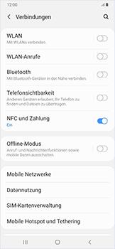 Samsung Galaxy A50 - Ausland - Auslandskosten vermeiden - Schritt 7