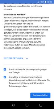 LG G6 - Apps - Konto anlegen und einrichten - 17 / 22