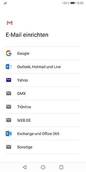 Huawei Mate 10 Pro - Android Pie - E-Mail - Konto einrichten (gmail) - Schritt 7