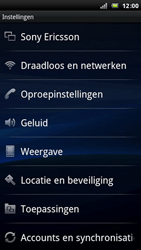 Sony Ericsson LT15i Xperia Arc - Internet - handmatig instellen - Stap 4