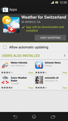 Sony Xperia Z - Applications - Installing applications - Step 16