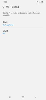 Samsung Galaxy A50 - WiFi - Enable WiFi Calling - Step 9