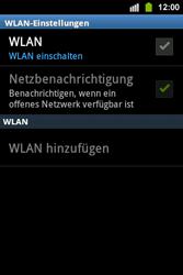 Samsung S5830i Galaxy Ace i - WLAN - Manuelle Konfiguration - Schritt 6