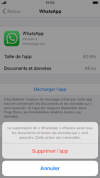 Apple iPhone 7 - iOS 13 - Applications - Comment désinstaller une application - Étape 7