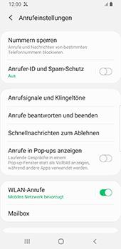 Samsung Galaxy S9 - Android Pie - Anrufe - Anrufe blockieren - Schritt 7