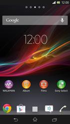 Sony C6603 Xperia Z - MMS - Envoi d