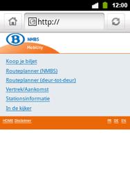 Alcatel OT-903 - Internet - hoe te internetten - Stap 12