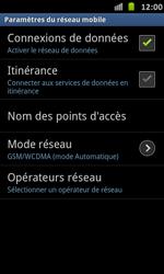 Samsung I9070 Galaxy S Advance - MMS - Configuration manuelle - Étape 6