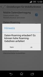 Sony Xperia E3 - Ausland - Im Ausland surfen – Datenroaming - 9 / 12