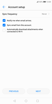 Huawei P Smart - E-mail - Manual configuration (outlook) - Step 8
