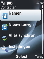 Nokia 6303 classic - contacten, foto