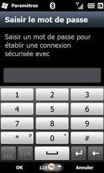 Samsung B7610 Omnia Qwerty - Bluetooth - connexion Bluetooth - Étape 11